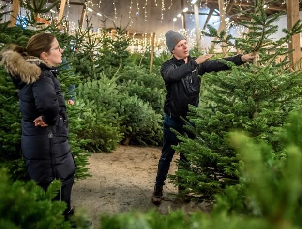 Julemarked på Knivholt. Foto: Martin Damgård Martin Damgård