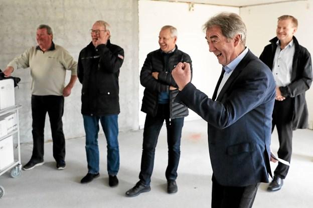 Rådmand Jørgen Hein glædede sig over udsigten til et nyt forebyggelses- og rehabiliteringscenter i det tidligere Ulstedparken. Foto: Allan Mortensen