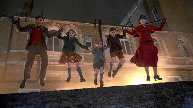 Mary Poppins vender tilbage til kino. Pressefoto
