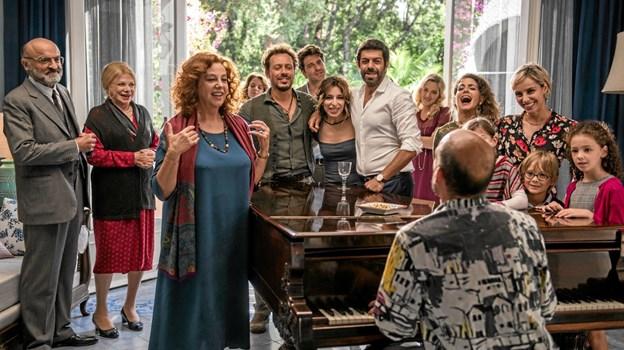 Min italienske familie har været et stort publikumshit i Italien, hvor den i de to første uger solgte mere end 600.000 billetter. ?Foto: Jesper Bøss Jesper Bøss