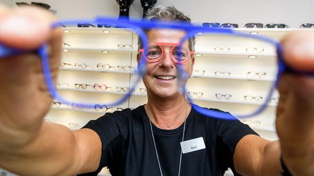 0dfd8ab4a12d Berit Overvad har fokus på de lidt anderledes briller.