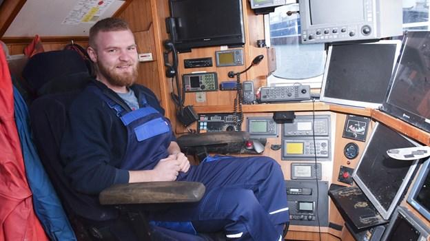 Lars Sørensen er beæret over at være indstillet og nu modtager af Iværksætterprisen, som uddeles af Frederikshavn Erhvervsråd. Foto: Kurt Bering Kurt Bering