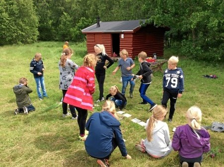 Vildmarksaktiviteter var et af sidste års mange Aktiv Ferie-tilbud, og også i år er der masser af aktiviteter at vælge imellem for ungdommen i Rebild og Mariagerfjord Kommune. Privatfoto
