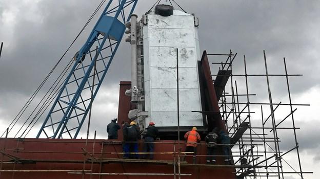Neptune Lines investering i scrubber-systemer skyldes lovgivningen fra 2016, som siger, at der i 2020 maksimalt må være 0,5 procent svovl i skibes udstødningsgas.