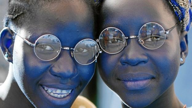 Det er primært synshæmmede i Afrika og Latinamerika, der modtager aflagte briller fra Lions klubberne i Danmark. Arkivfoto