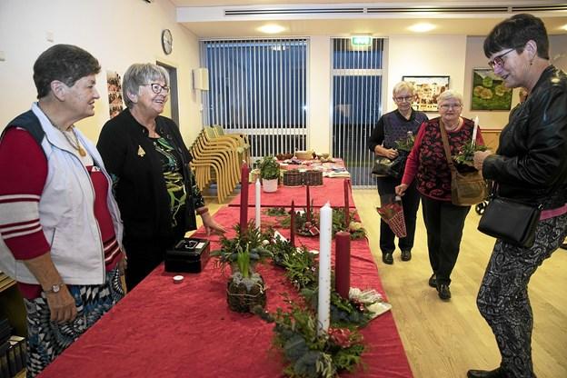 Der var stort rykind til torsdagens julestue på Hassinghave. Foto: Allan Mortensen