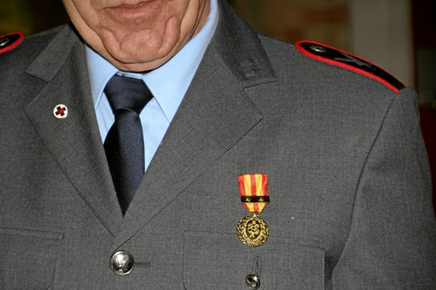40 års tjeneste samme sted er en milepæl at nå. Foto: Hans B. Henriksen Hans B. Henriksen