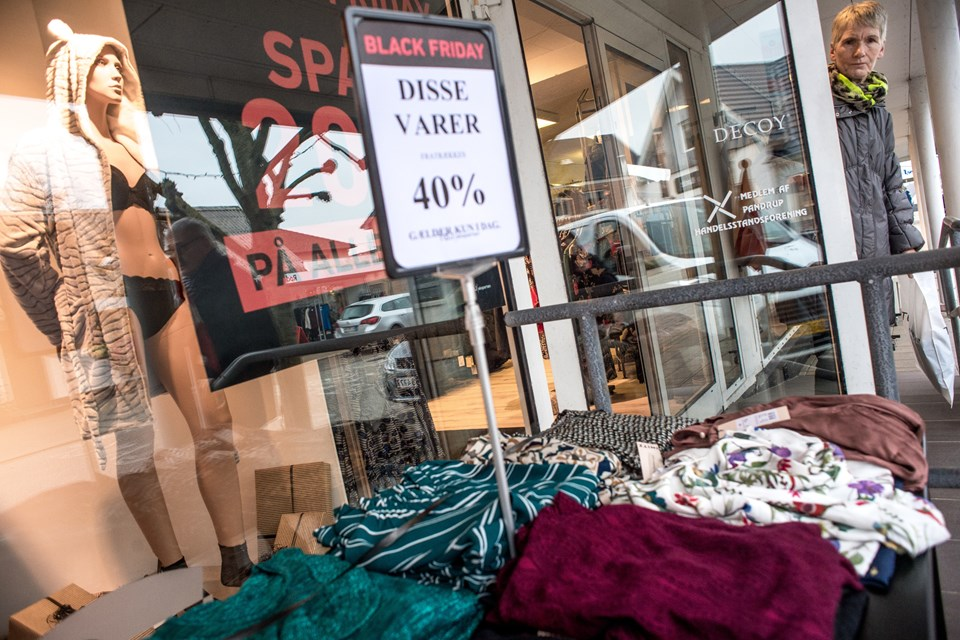 Tilbud trak kunderne til. Foto: Martin Damgård Martin Damgård