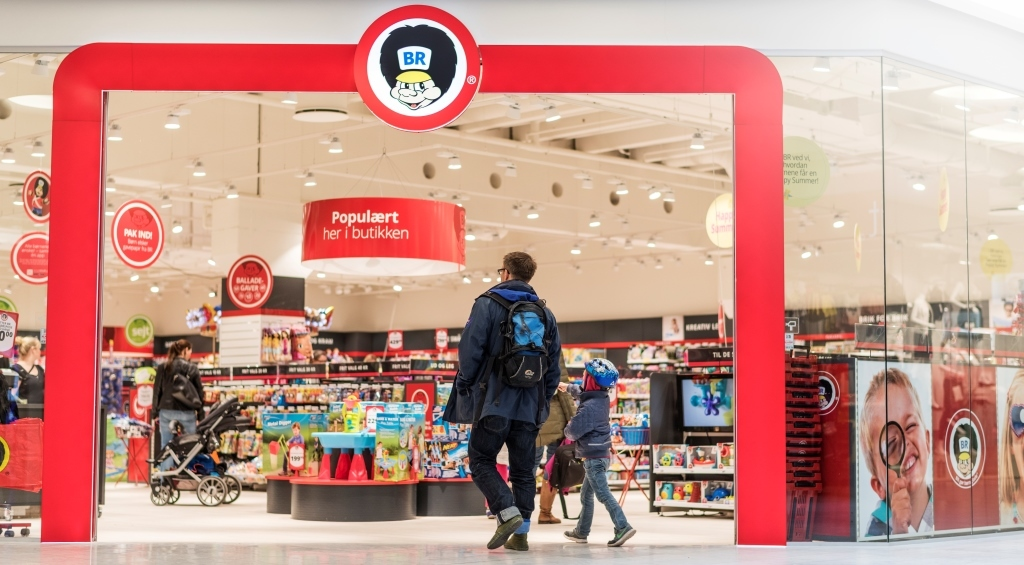 BR er klar til at åbne endnu en butik i Aalborg. PR-foto