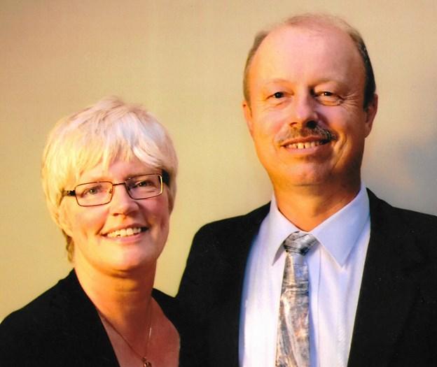 Missionærparret Birgitte og Søren Pedersen har arbejdet i Østafrika siden 1991. Med udgangspunkt i Kenya arbejder de fortrinsvis med kirkebyggerier, som i løbet af ugen også bruges til skolegang. Privatfoto