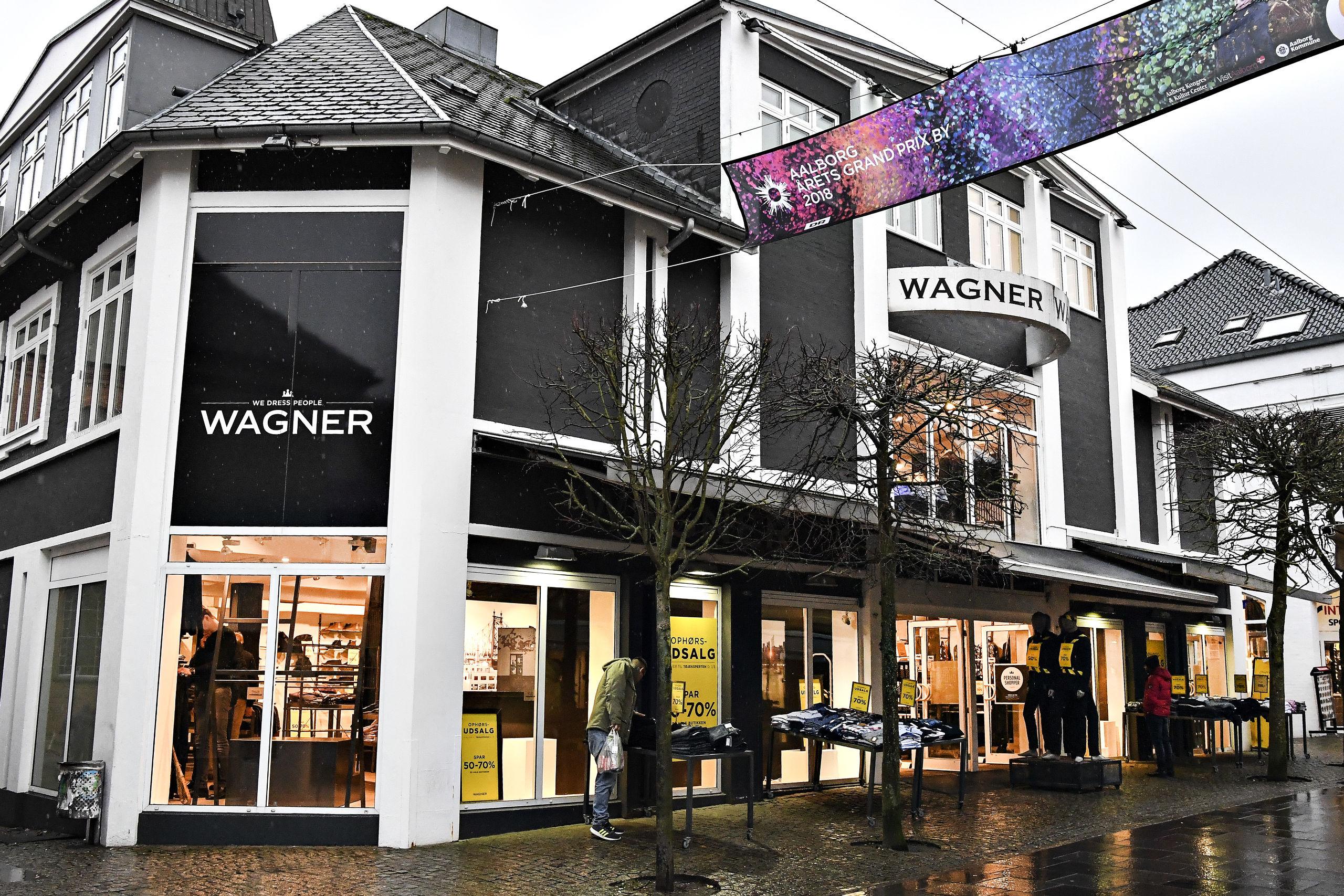 Wagner bliver til Tøjeksperten 1. marts. Foto: