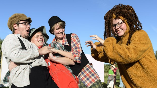Teaterforeningen Skovspillene er 28. januar klar til at afsløre årets skuespil - vil man gerne være med, er alle muligheder åbne. Arkivfoto: Peter Broen