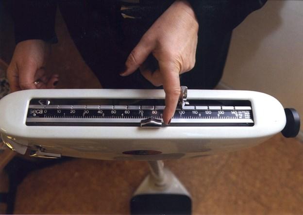 Mange voksne i Mariagerfjord Kommune døjer med svær overvægt. 19,3 procent af fjordkommunens borgere over 16 år har et BMI på eller over 30. Det er væsentligt flere end på landsplan, hvor andelen af svært overvægtige er 16,9 procent. Arkivfoto