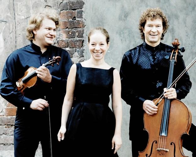 Brahms Trio Moskva giver 23. marts koncert på Mariagerfjord Gymnasium. PR-foto