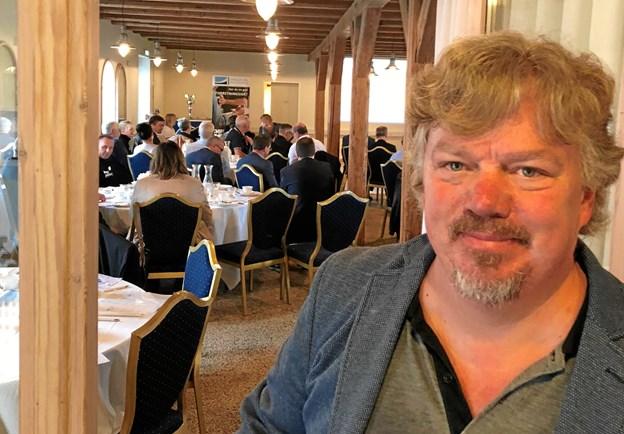 Professor Anders Drejer serverede gode business-vitaminter til erhvervsfolkenes morgenbord. Privatfoto