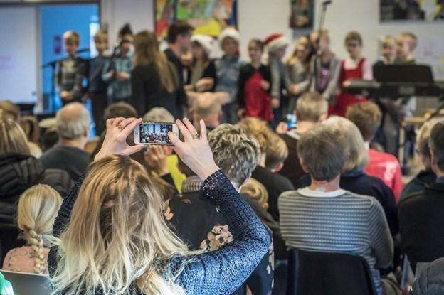 Aabybro Friskole inviterer til åben skole. Arkivfoto. Martin Damgård