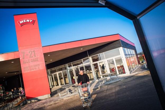 Så er der en ny indkøbsmulighed i Løkken. Foto: Martin Damgård
