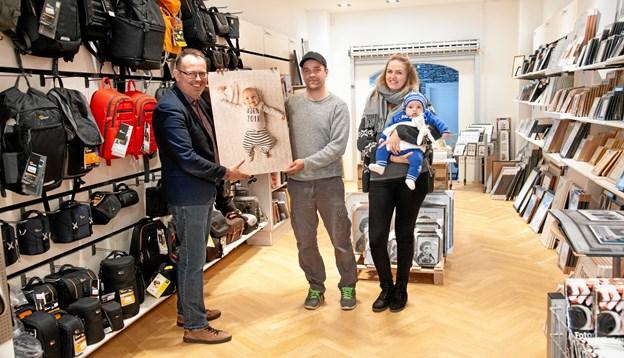 Lille Lauge fra familien Smed Rønn løb med sejren. Foto: PhotoCare