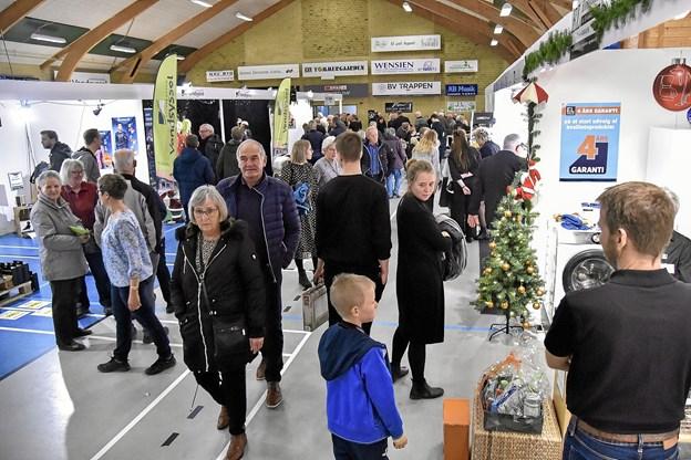 2018 udgaven af julemessen i Bedsted blev godt besøgt begge dage. Foto: Ole Iversen Ole Iversen