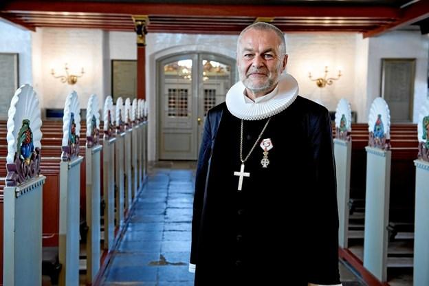 Biskop Henning Toft bro gæster Sæby sogn