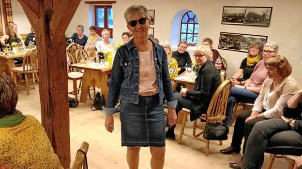 Her ses tidligere ejer af butikken Ingelise Kirkelund.