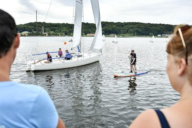 Det er projekt »Vild med Vand«, der sammen med landets lystbådehavne, står bag Havnens Dag, hvor alle kan opleve og teste et hav af aktiviteter både til lands og til vands. Foto: Michael Koch