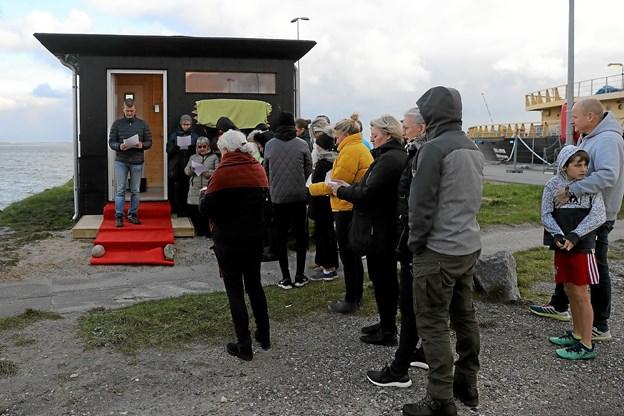 Der var stor interesse for indvielsen. Foto: Allan Mortensen