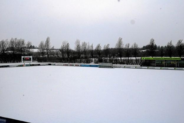 Kommunen støtter forbedringer af Jetsmark Stadion. Foto: Flemming Dahl Jensen