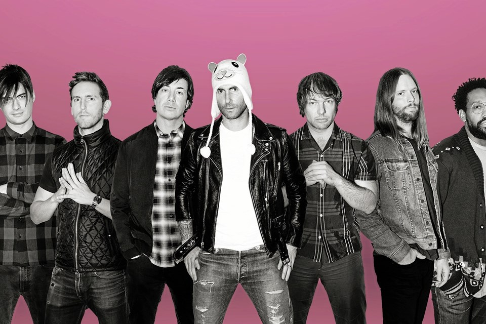 Der er solgt knap 17.000 billetter til koncerten med Maroon 5 på lørdag. PR-foto