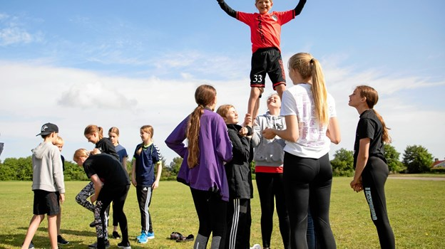 Helt på toppen i cheerleading MICHAEL MADSEN  OCTOMEDIA