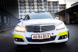 Lastbilchauffør ville stikke af fra uheld: Vidne forhindrede flugten