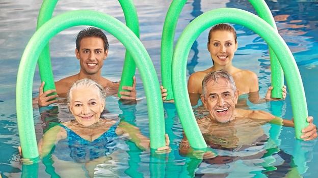 Det er ikke alle, der er trygge ved vand, men det kan der heldigvis gøres noget ved. Privatfoto