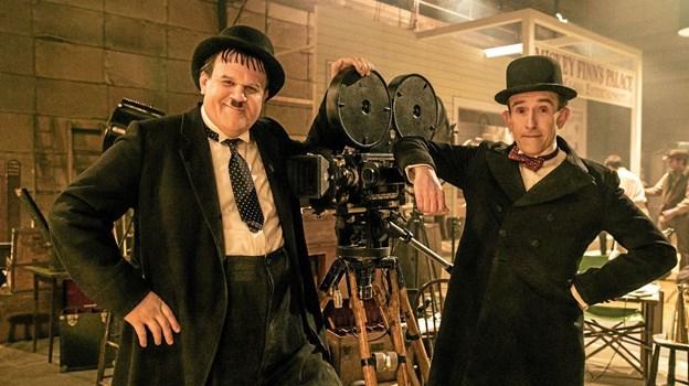 Rollerne som Gøg og Gokke spilles af Steve Coogan og John C. Reilly, som her ses i en scene fra filmen. Hans Jørgen Callesen