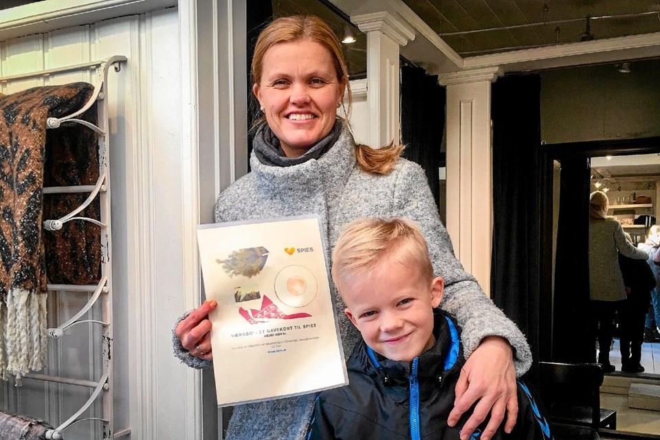Lene Øvreås Poulsen fra Thisted er den heldige vinder af konkurrencen Malmøs Next Topmodel. Præmien er rejse for 8000 kroner. Privatfoto