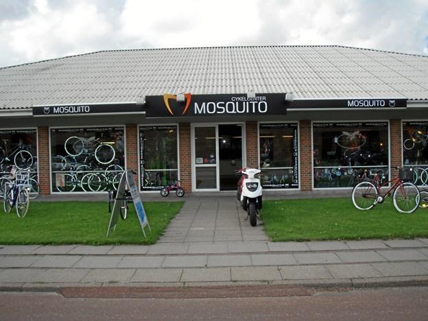 Mosquito Cykler lukker. Privatfoto