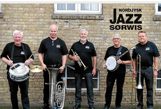 Søndag den 21. april byder Nordjysk Sørvis Jazz på svingende New Orleans Jazz.