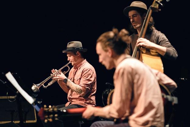 """Der er gratis adgang til en række rytmiske """"eksamens-koncerter"""" i Musikkens Hus fra på mandag 4. juni. Foto: Martin Graugaard"""