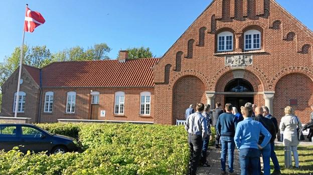 På besøg i Tinghuset i Fjerritslav. Foto: Jammerbugt Kommune