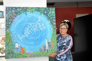 Ny kunstner i Hjallerup Kulturhus