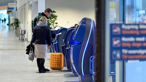 Fleste rejste mellem Aalborg og udlandet i 2018. Arkivfoto: Henrik Bo