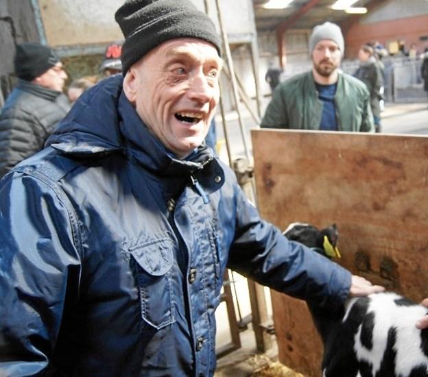 Mogens Thomsen, Sæby holder meget af at komme på landet og se til dyrene.