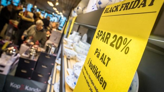 Julehandlen blev skudt i gang. Foto: Martin Damgård Martin Damgård