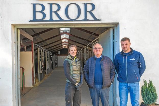 Katrine Riis, Kurt Guldhammer og Anders Vedsted.Privatfoto