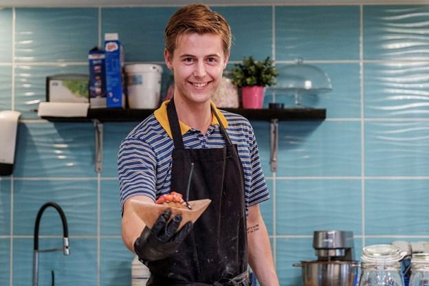 Morten Engberg arbejder hos Desserten, der har meget travlt i øjeblikket.