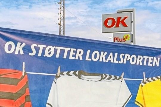 Blackhawks har som mange andre foreninger i Danmark underskrevet en sponsoraftale med energiselskabet OK. Arkivfoto.