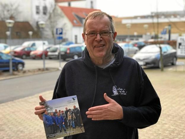 Erik Holm klar med sin nye folder