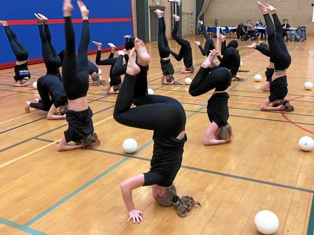 Der var også en gymnastikopvisning. Privatfoto
