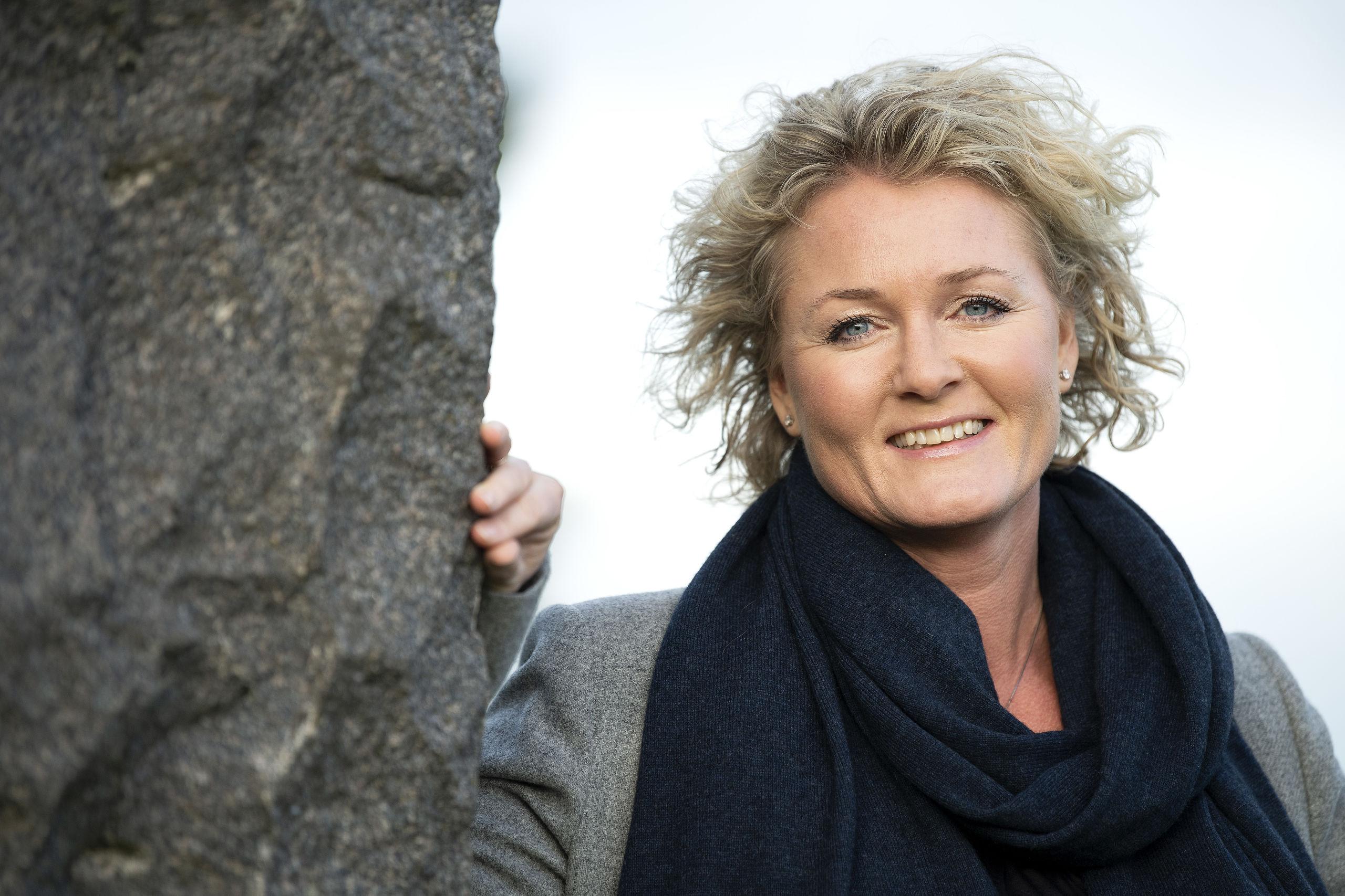 Rikke Mølgaard er salgs- og marketingdirektør i Aalborg Lufthavn. Foto: Henrik Bo