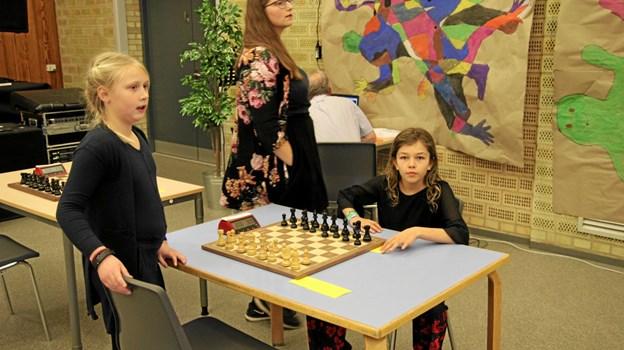 Pigerne er i alderen fra 6 til 18 år. Foto: Flemming Dahl Jensen