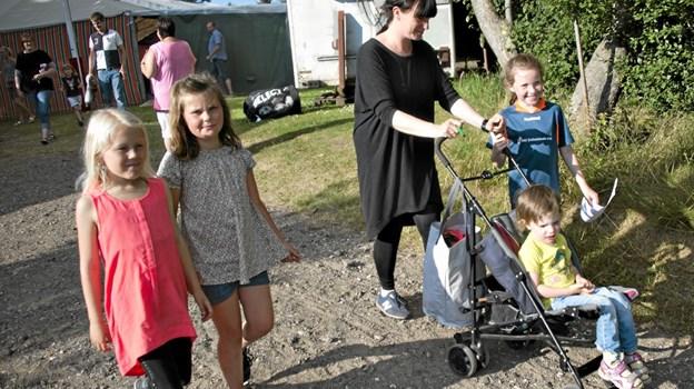 Børn og voksne er klar til flere dages fest i Thorshøj (arkivfoto) Foto: Åse Bakland